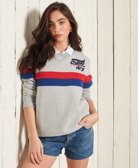 Superdry Collegiate Cut & Sew Sweatshirt