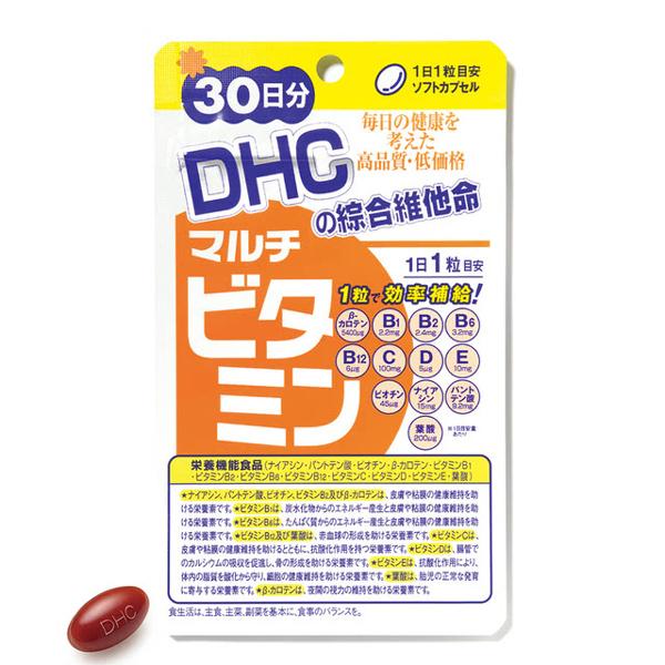點數15%★醫美保健滿2千–DHC綜合維他命(30日份)【康是美】