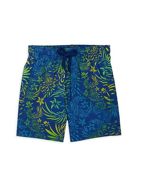 Little Boy's & Boy's Printed Swim Trunks