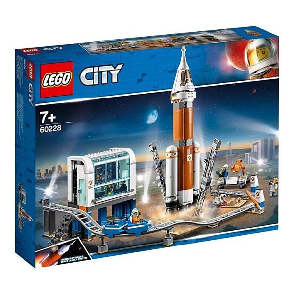 Lego 城市系列重型火箭及發射控制