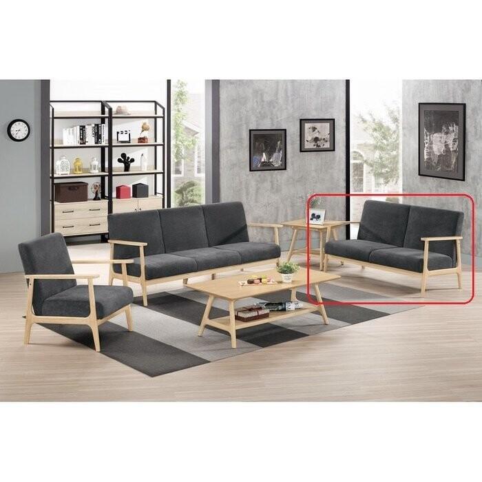 新精品km-722-3 弗蕾莉休閒沙發雙人椅 (不含其他商品)台北到高雄/滿三千搭配車趟免運費
