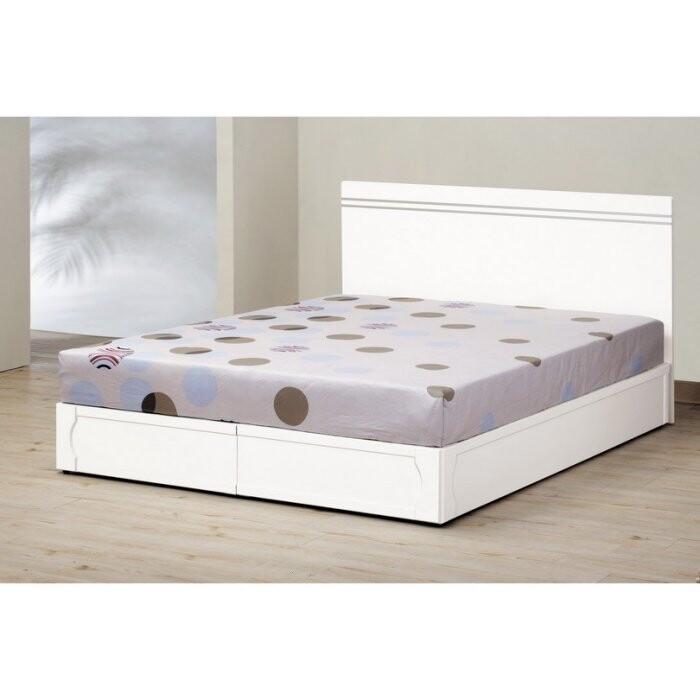 新精品km-667-2 艾麗絲5尺床片型雙人床(床頭片+床底)台北到高雄/滿三千搭配車趟免運費