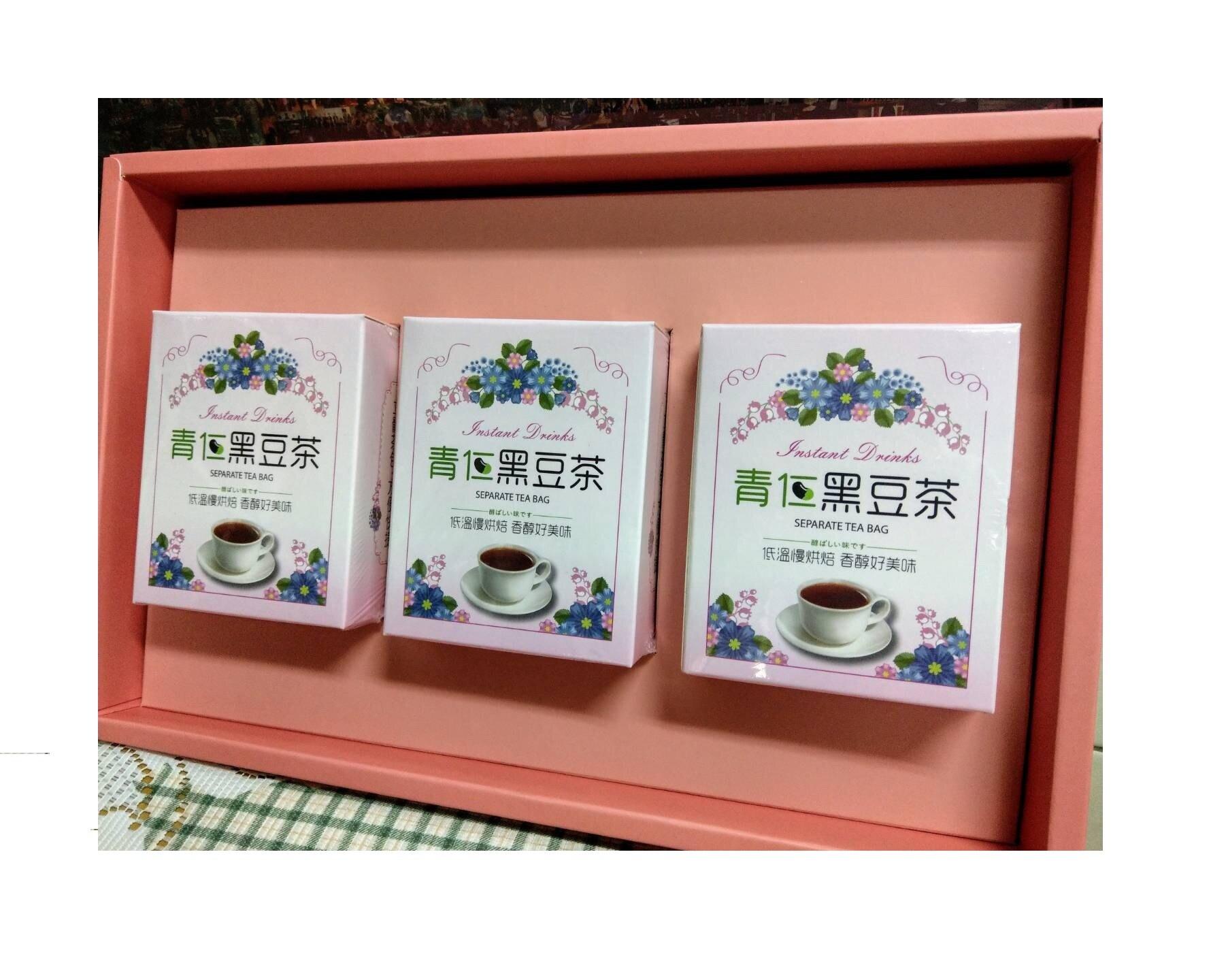 小確幸黑豆茶禮盒(3入/盒)