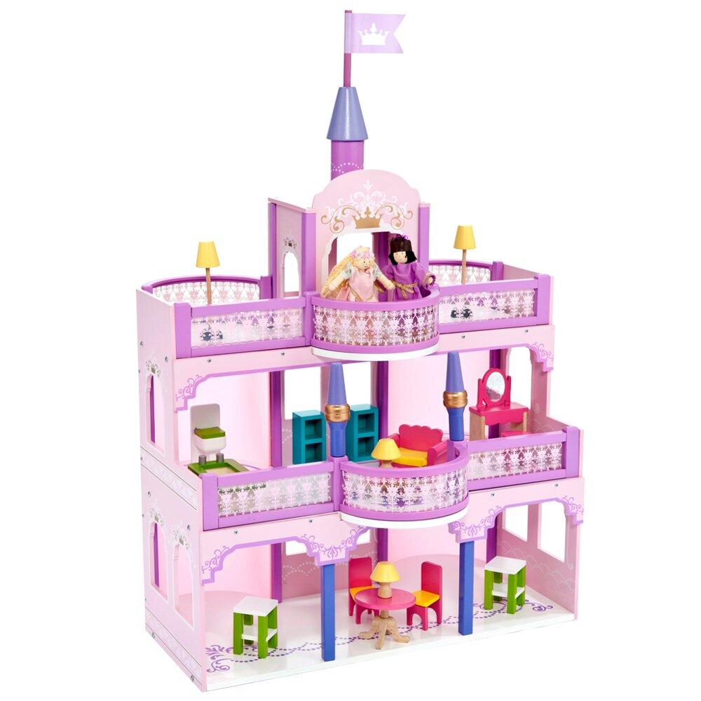 【台灣Mentari】幸福城堡(大型娃娃屋附娃娃+精美家具)