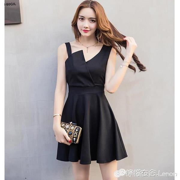女人味洋裝女夏天新款夜店氣質裙子仙女超仙森系禮服吊帶裙 檸檬衣舍
