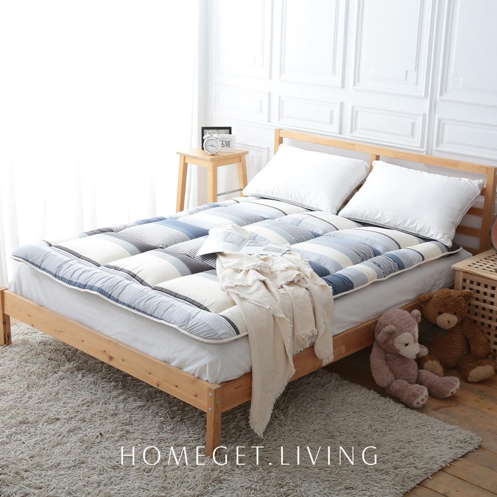 MIT台灣製造 / 日式榻榻米和式床墊 / 雙人5X6.2尺 / 世界級蓬鬆 / 超厚實12cm