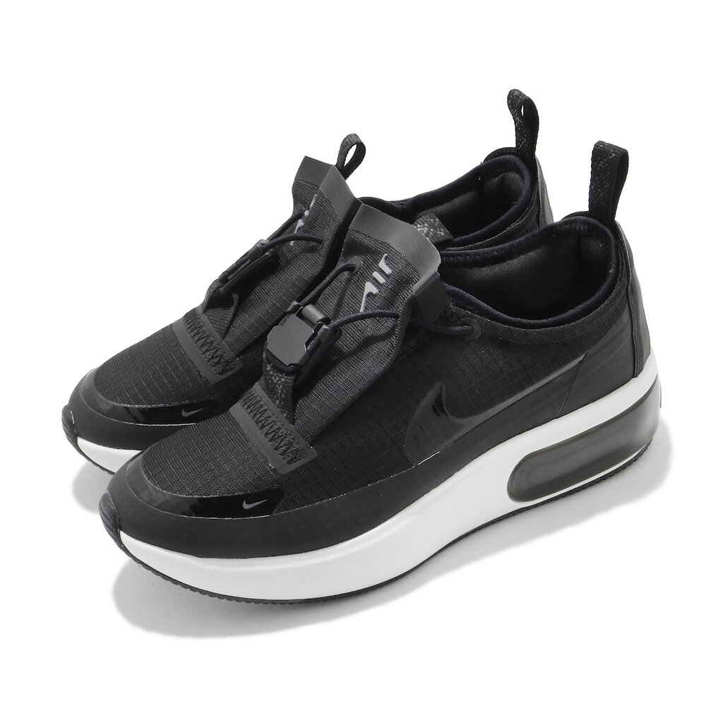 NIKE 休閒鞋 Air Max Dia Winter 女鞋 氣墊 舒適 避震 簡約 球鞋 穿搭 黑 白 [BQ9665-001]