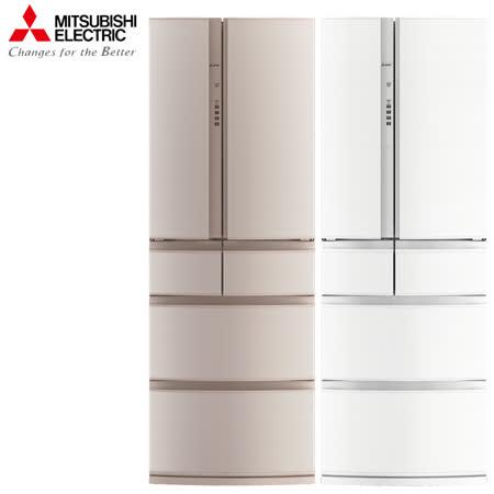 【福利品】三菱513L日本原裝變頻六門電冰箱MR-RX51E