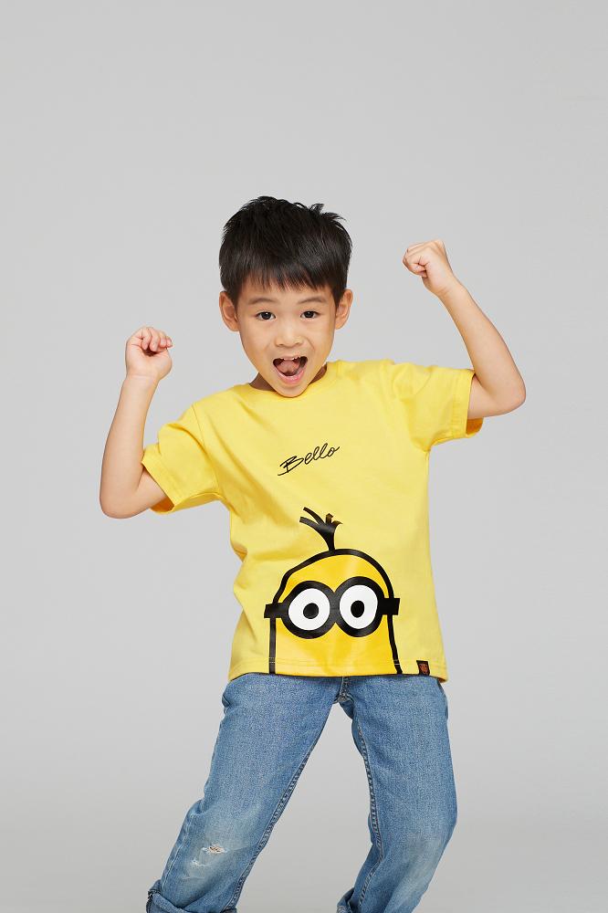 小小兵系列 Kevin款 兒童短袖T恤