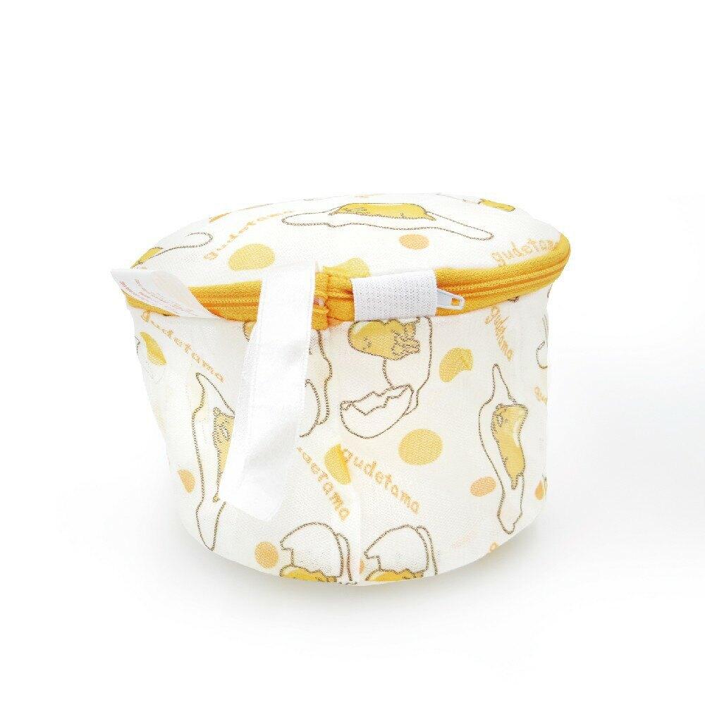 【Sanrio三麗鷗】 蛋黃哥洗衣網-立體  18x13cm 台灣製造品質安心