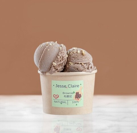Jesse Claire 天使屋手工冰淇淋 點心類 布朗尼口味