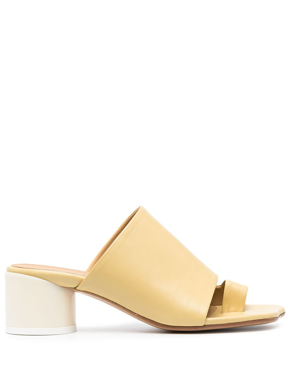 MM6 Maison Margiela Sandals Yellow