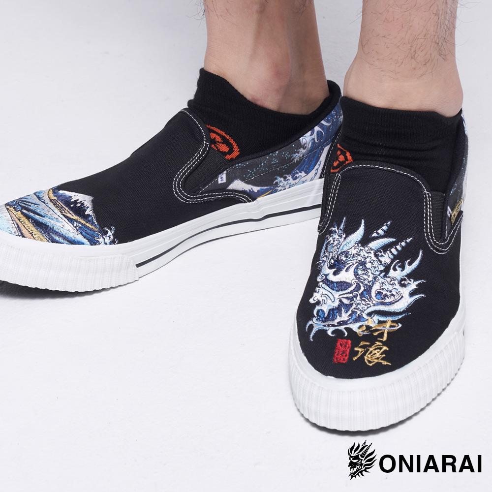 【新品配件↘9折】鬼洗浮世繪衝浪休閒鞋- BLUE WAY 鬼洗