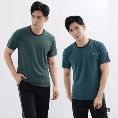 【遊遍天下】兩件組_MIT仿綿吸濕排汗抗UV短袖圓領衫GS2007