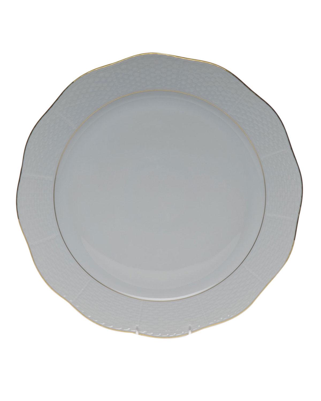 Golden Edge Round Platter