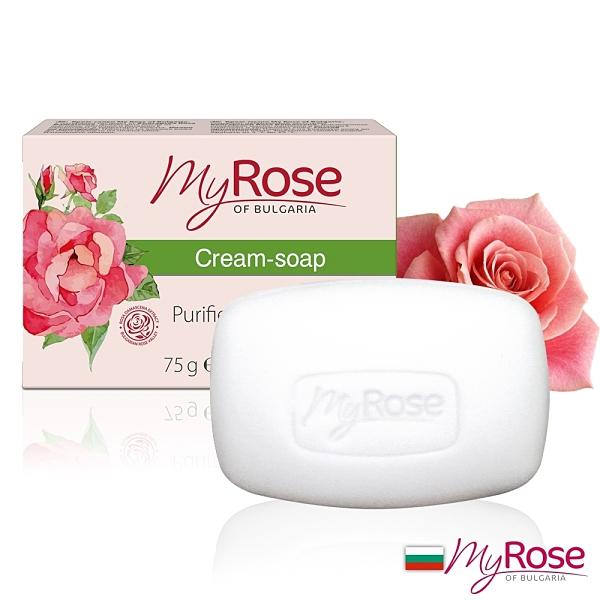 保加利亞Myrose大馬士革玫瑰潤膚皂75g