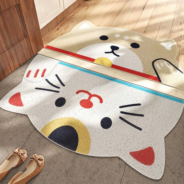 半月寵物地墊(兩款可選) 約45X90cm±1cm【棉床本舖】