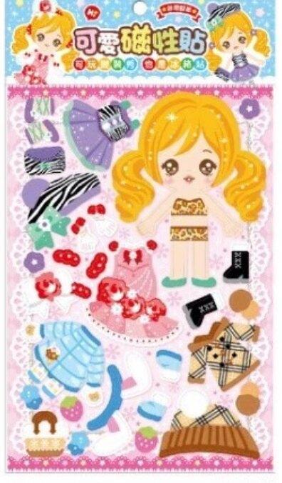 可愛磁性貼-小安娜