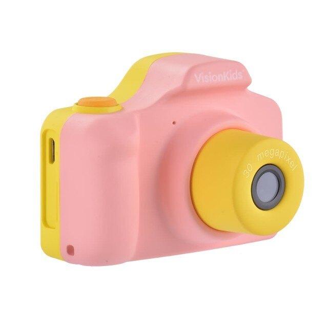 【VisionKids】Happicamu Pro 3000萬像素兒童數位相機(並不包含SD記憶卡) (藍/粉紅)