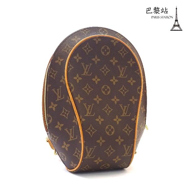 【巴黎站二手名牌專賣店】*現貨*LV 路易威登 真品*M51125經典花紋Elipse系列雙肩後背包