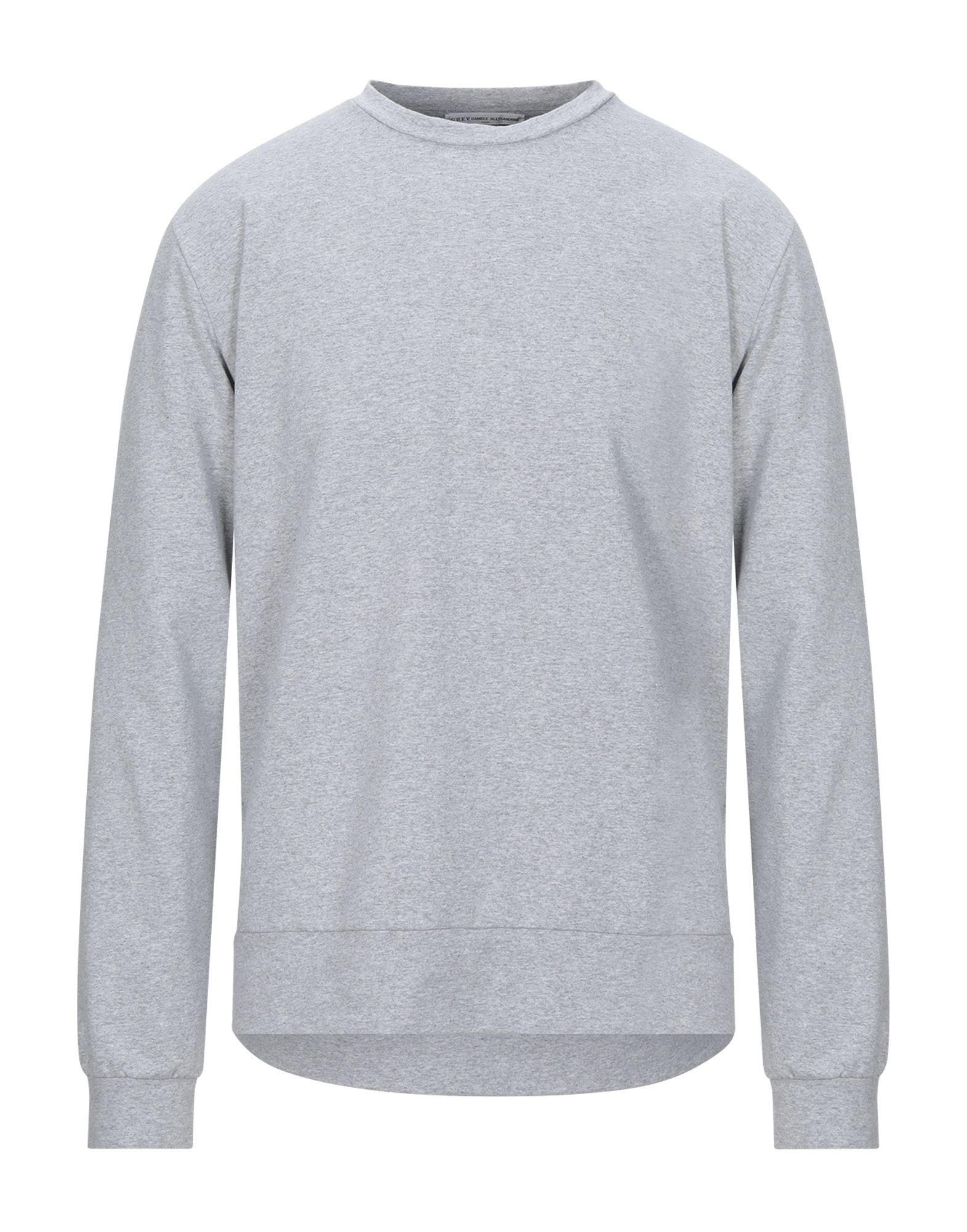 GREY DANIELE ALESSANDRINI Sweatshirts - Item 12443250