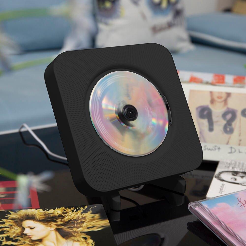 CD機 CD播放機壁掛式影碟vcd便攜復讀學生隨身聽英語DVD播放器黑膠專輯