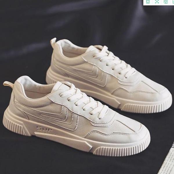 新款透氣板鞋男2020夏季韓版潮流百搭休閒帆布鞋學生小白運動布鞋