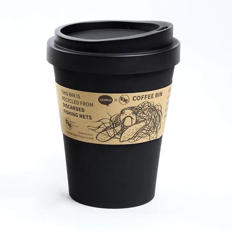 環保隨行杯-垃圾桶L(黑)