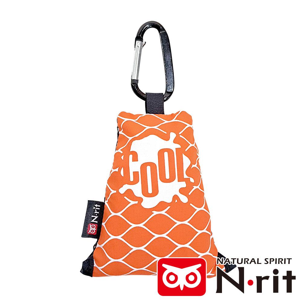 【韓國 N-rit 】CAMCOOL涼感吸水巾45x45cm (CAMCOOL 橘/輕量/快乾/好收納)