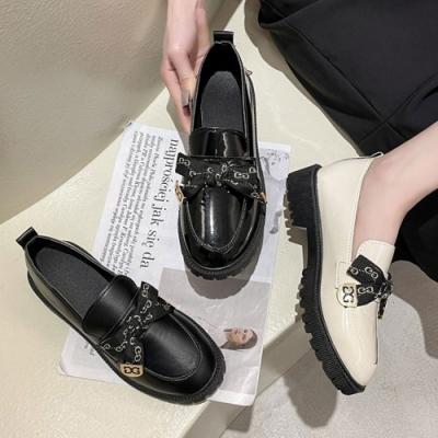 韓國KW美鞋館-韓新品優雅牛津鞋(通勤鞋/休閒鞋)(共3色)