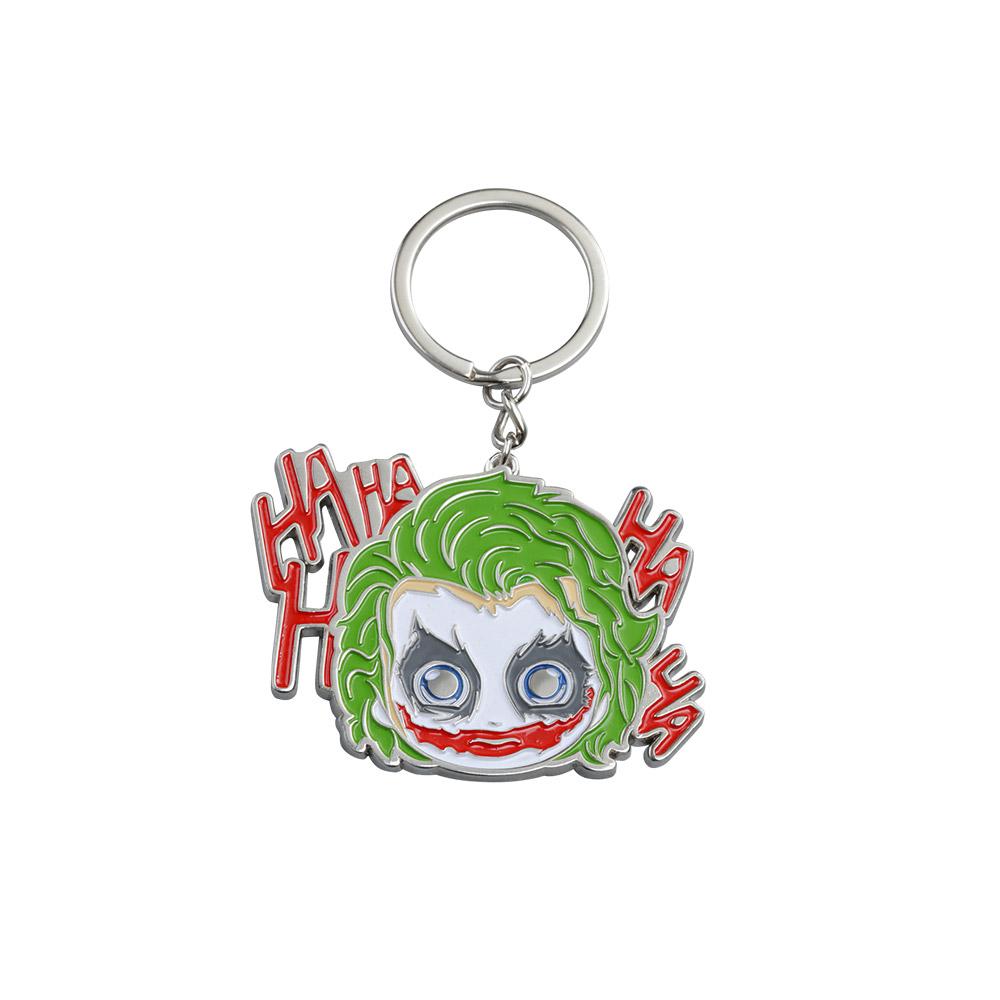 黑暗騎士 小丑 金屬鑰匙圈