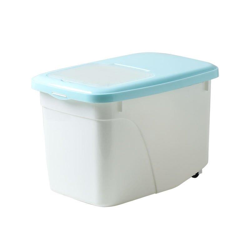 裝米桶家用20斤米箱儲米罐面粉桶米面收納箱密封防蟲防潮米盒子10
