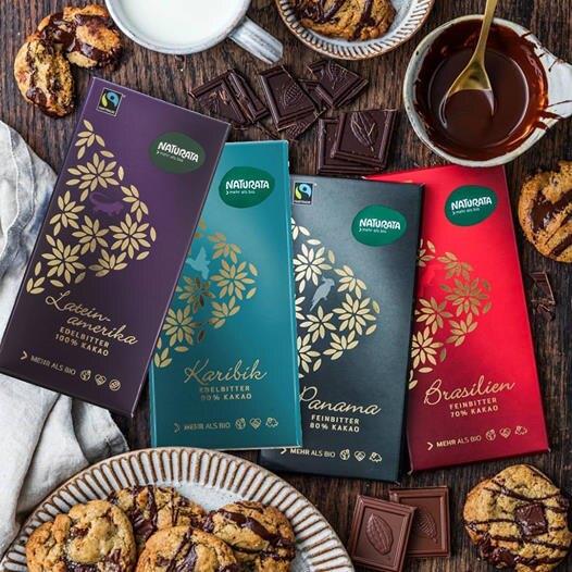 【任選2入499】Naturata 拉丁美洲100%有機頂級黑巧克力 80 g/片 │機本生活O'Life