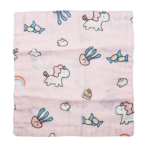超細柔泡泡方巾(25cmx25cm)1入 款式隨機出貨【小三美日】DS000559