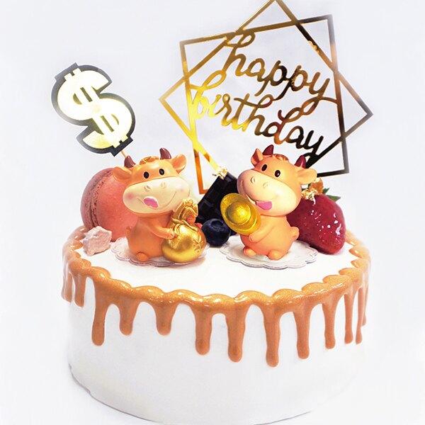屬你最牛6吋★【PATIO帕堤歐】造型蛋糕/生日蛋糕/卡通蛋糕