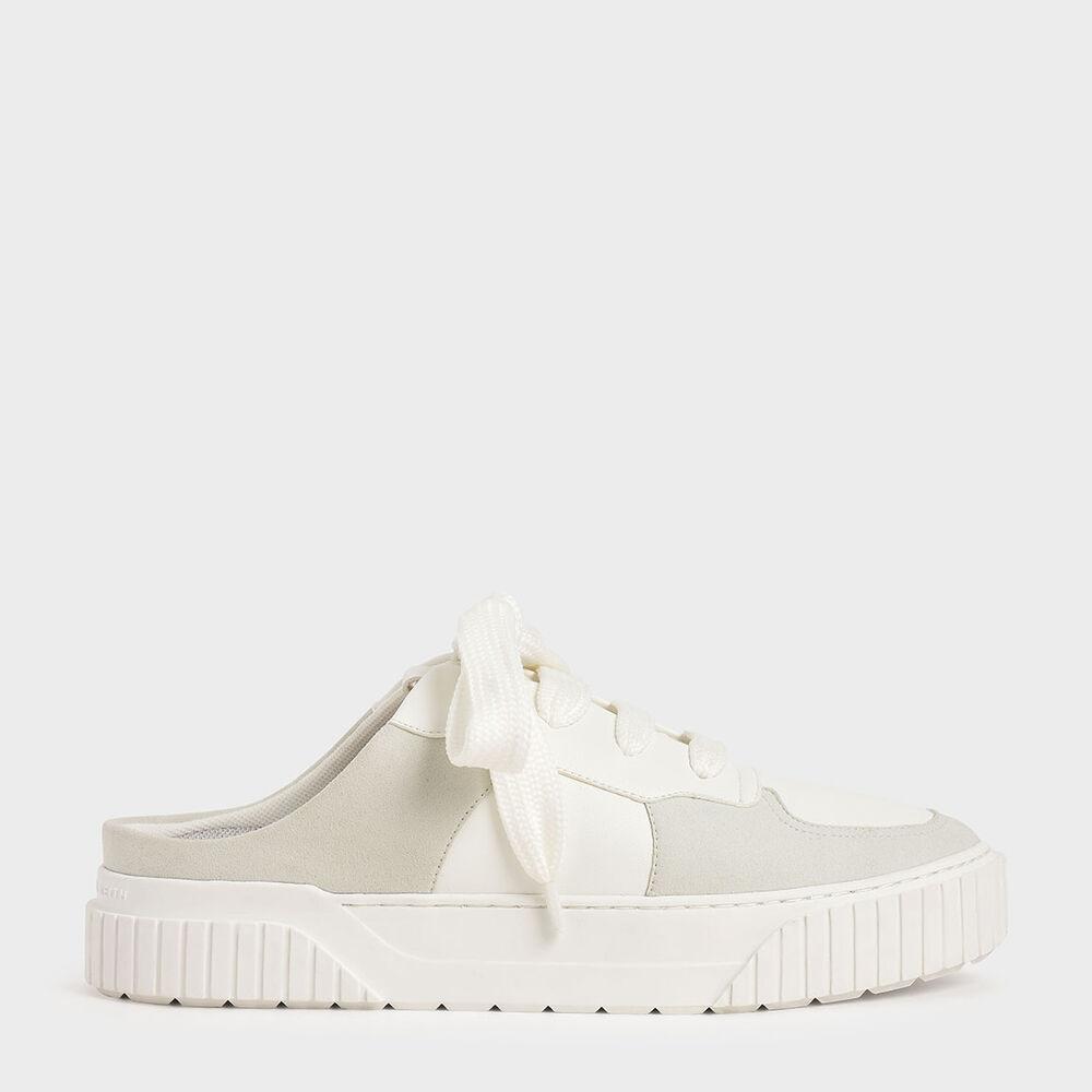 寬鞋帶懶人鞋