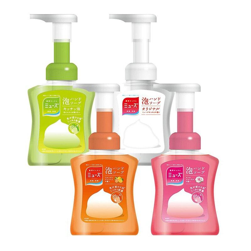 日本MUSE 洗手乳 洗手慕斯 抗菌泡沫洗手乳 泡沫洗手乳 按壓洗手瓶 香氛洗手 變色泡泡 250ml【JP0083】