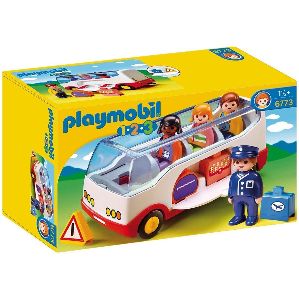 playmobil 123series 小巴士