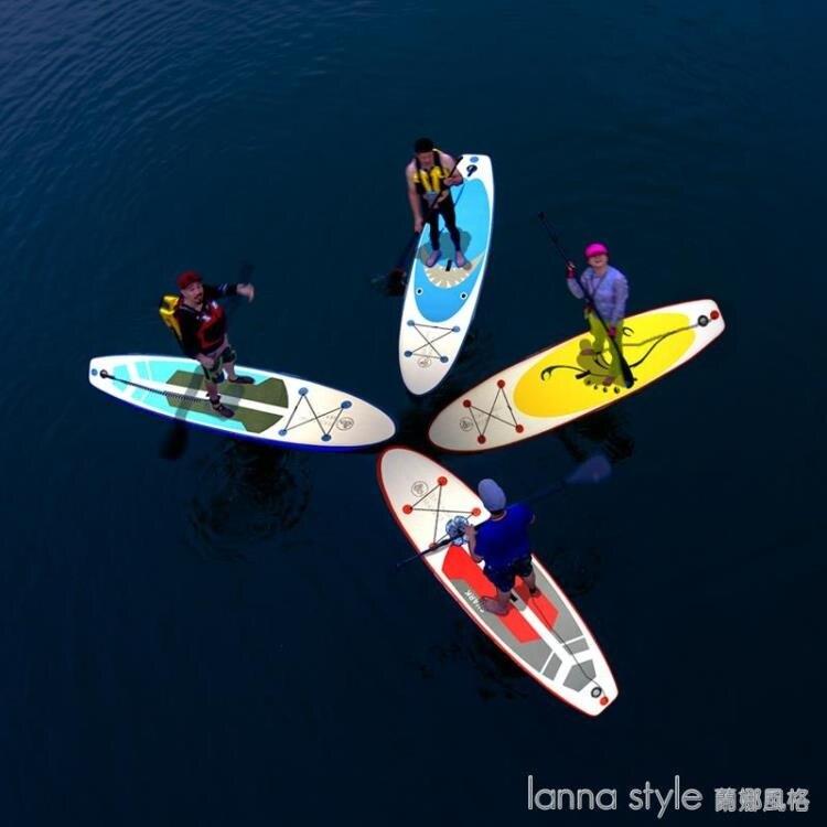 艦龍SUP沖浪板立式槳板充氣滑水板成人