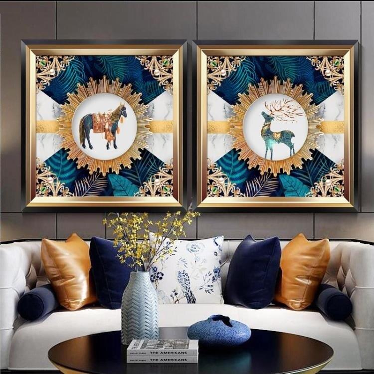 樂天優選-現代風格客廳裝飾畫沙髮背景畫簡歐畫美式壁畫臥室餐廳掛畫