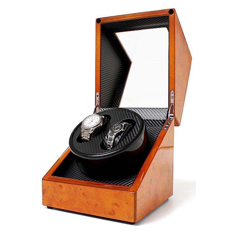 85折下殺  搖錶器機械錶自動錶盒進口手錶上鏈自動上弦器兩位晃錶器盒子-快速出貨FC