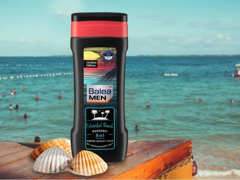 預售 德國 Balea MEN 3in1 Colorful Beach 沐浴露 300ml