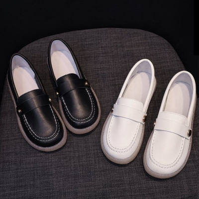 KEITH-WILL時尚鞋館-流行穿搭豆豆鞋(娃娃鞋/休閒鞋/平底鞋)(共2色)