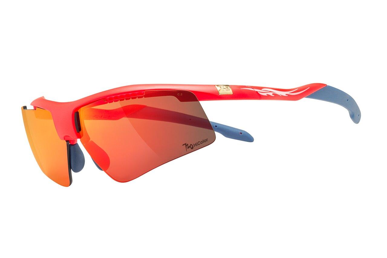 【【蘋果戶外】】720armour B304B2-14-HC 消光螢桔紅 茶紅鍍膜 Dart HiColor 運動太陽眼鏡 飛磁換片 風鏡 防風眼鏡