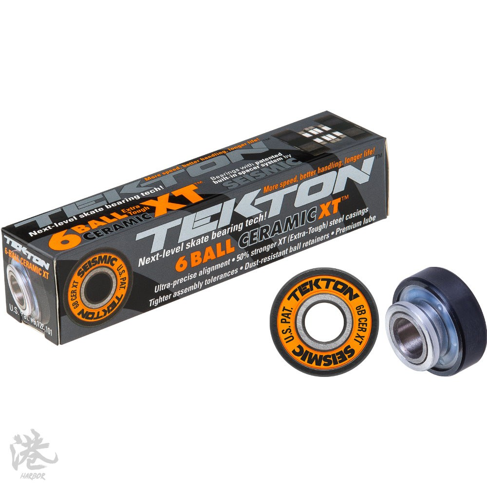 Seismic Tekton 6-Ball XT Ceramic Built-In Bearings 【Harbor港】