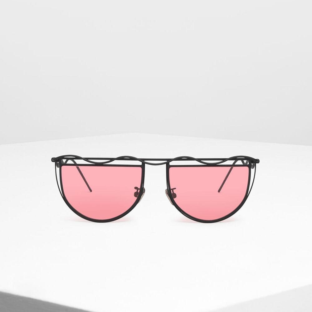 波浪鏡框墨鏡