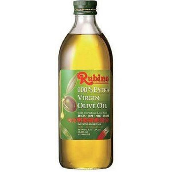 魯賓Rubino100%冷壓特級橄欖油1L 買一送一【愛買】