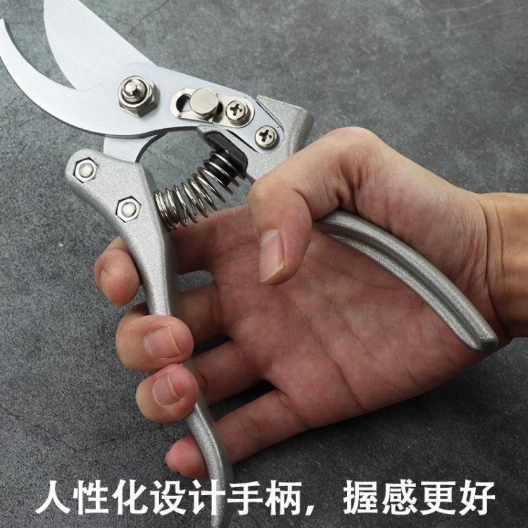 日本進口SK5樹枝剪園藝修枝剪鋁合金強力粗枝果樹園林花藝工具剪 果果輕時尚