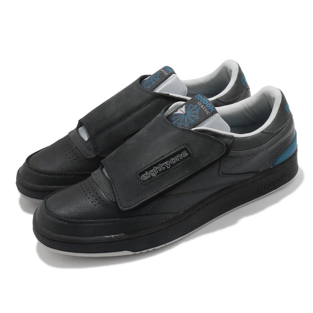 REEBOK 休閒鞋 Club C 基本款 簡約 男鞋 Stomper Eightyone 穿搭 灰 黑 [G55762]