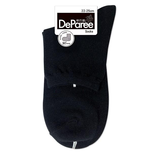 蒂巴蕾SOCKS-直角襪22085黑【康是美】